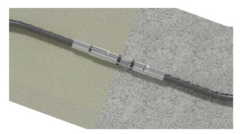 INCON ICP Position Couplers are the optimum solution for connecting two curved steel bars together.