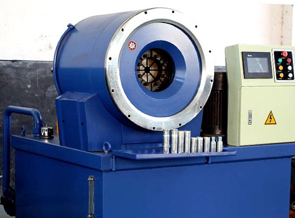 Simplicity and outstanding performance are key features of our swaging machines.